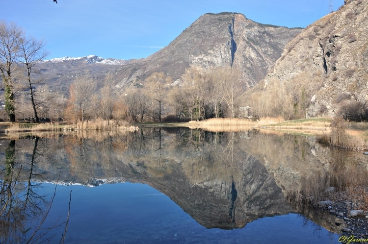 Hermillon (Savoie) Le lac de l'Echaillon
