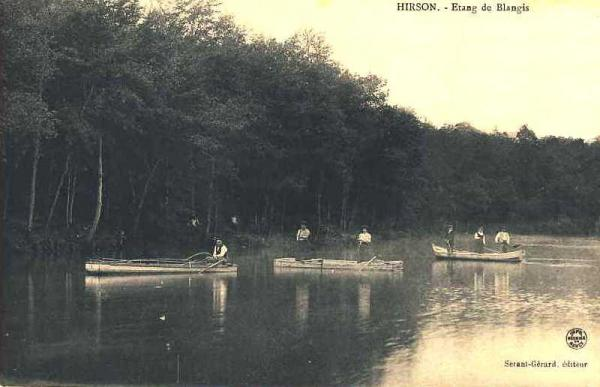 Hirson (Aisne) CPA Blangis l'étang
