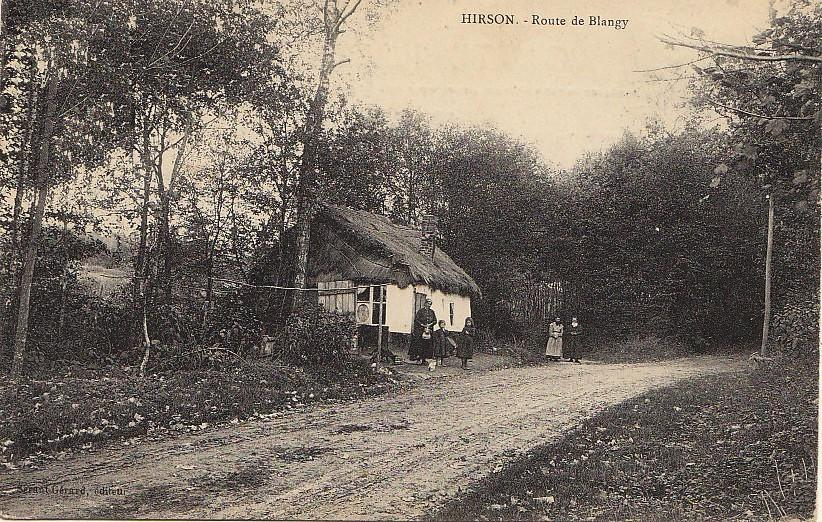 Hirson (Aisne) CPA Blangis l'entrée des usages