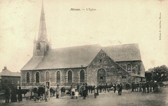 Hirson (Aisne) CPA l'église Notre-Dame-de-Lourdes