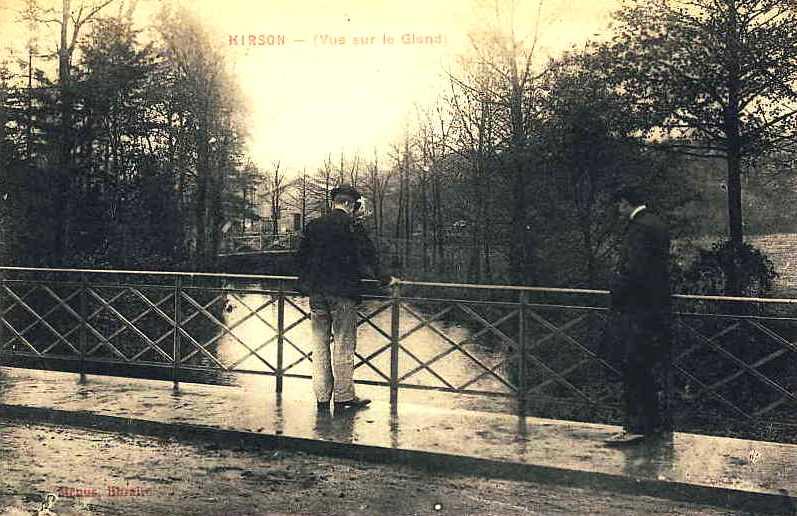 Hirson (Aisne) CPA le Gland