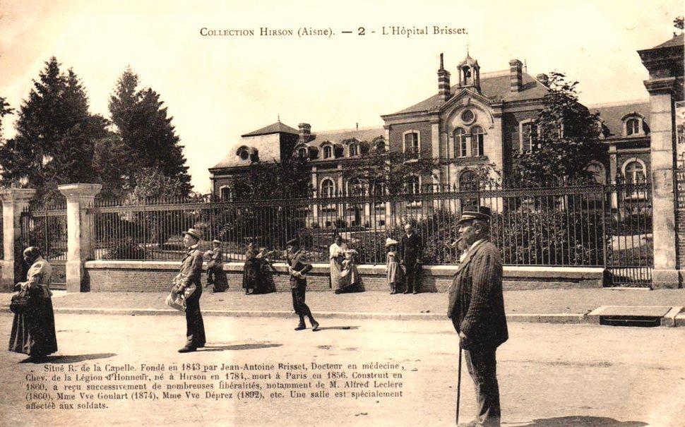 Hirson (Aisne) CPA l'hôpital Brisset
