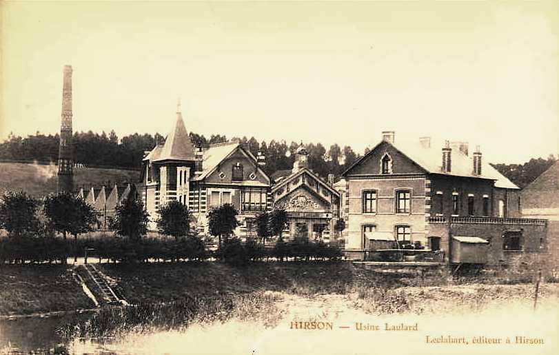 Hirson (Aisne) CPA l'usine Persévérante Laulard