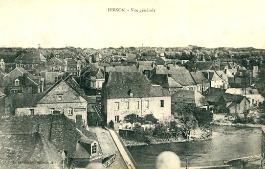Hirson (Aisne) CPA Vue générale