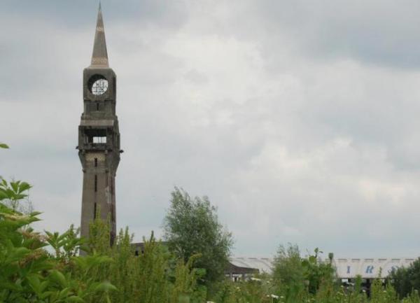 Hirson (Aisne) la tour florentine