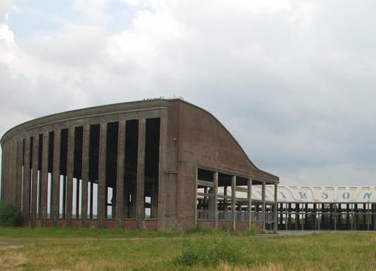 Hirson (Aisne) la rotonde
