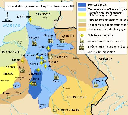 Le Nord du royaume d'Hugues Capet vers 995.svg