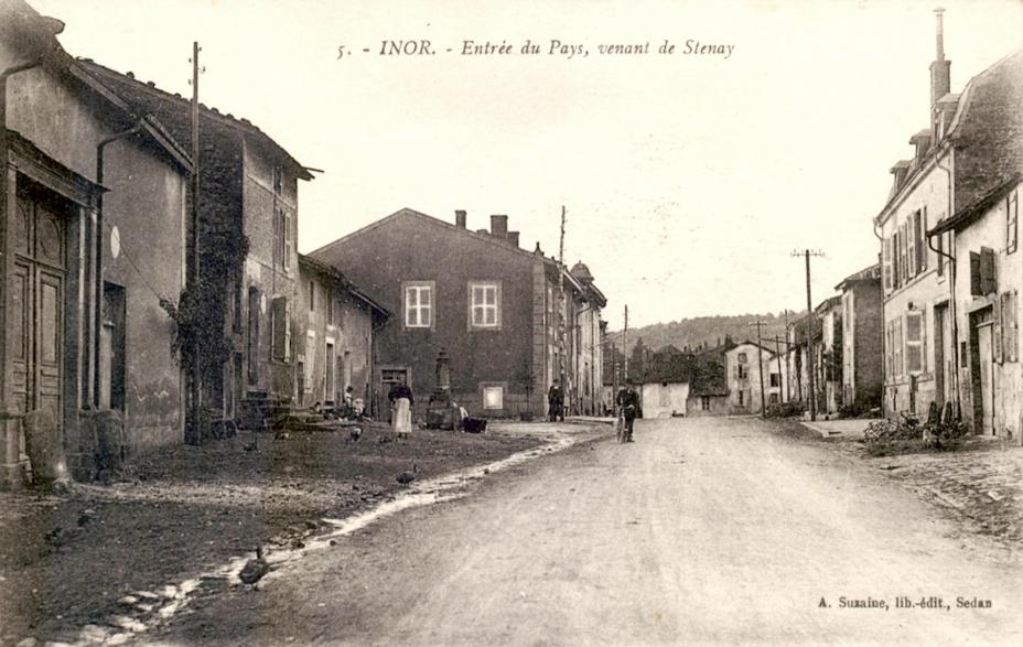 Inor (Meuse) CPA
