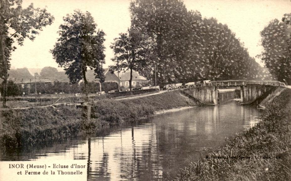 Inor (Meuse) L'écluse