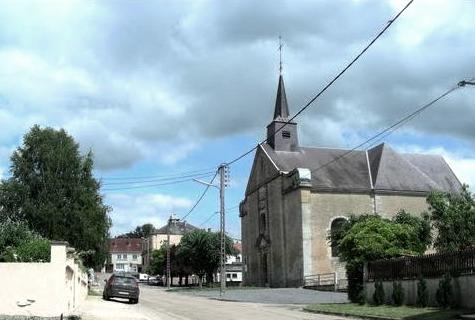 Inor (Meuse) L'église