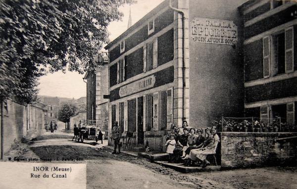 Inor (Meuse) L'épicerie Falala CPA