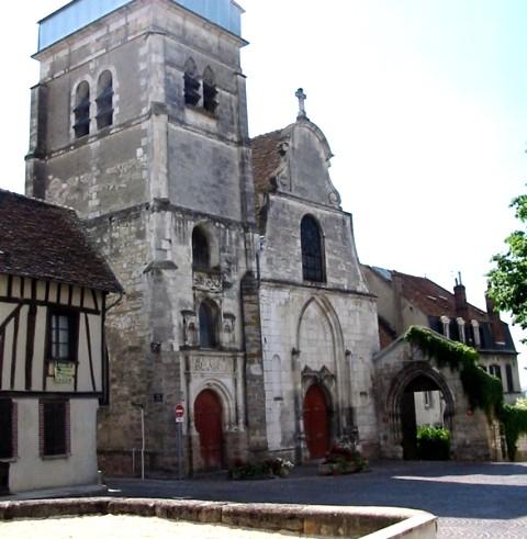 Joigny (89) L'église Saint-André