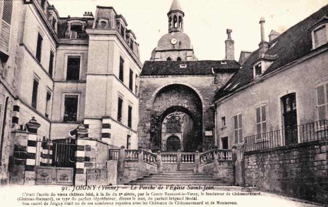 Joigny (89) L'église Saint-Jean CPA
