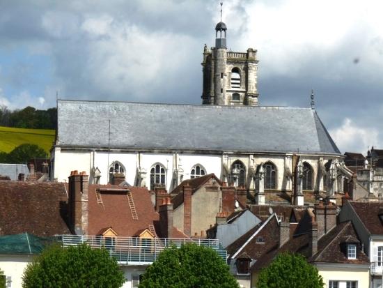 Joigny (89) L'église Saint-Thibault