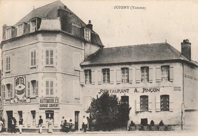 Joigny (89) L'hôtel de l'Escargot CPA
