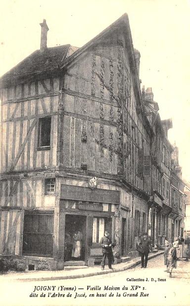 Joigny (89) La maison de l'Arbre de Jessé CPA