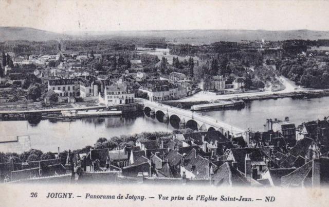 Joigny (89) Vue générale CPA