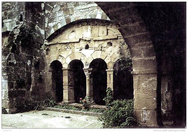 Joncels (Hérault) Le cloître CPA