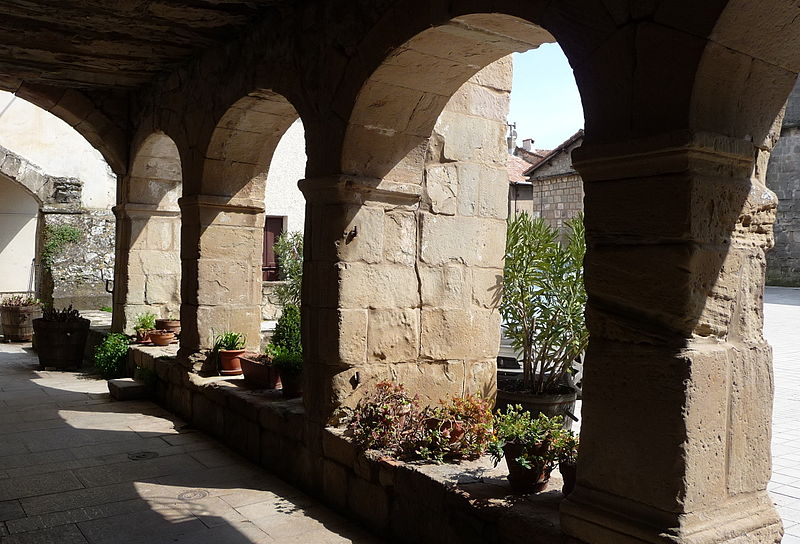 Joncels (Hérault) Le cloître