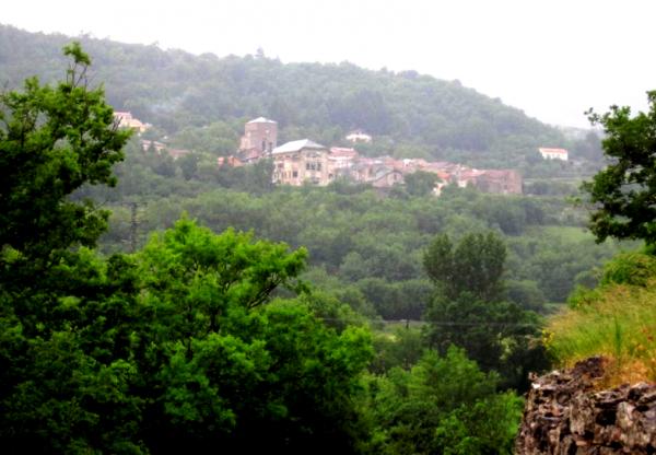 Joncels (Hérault) Vue générale