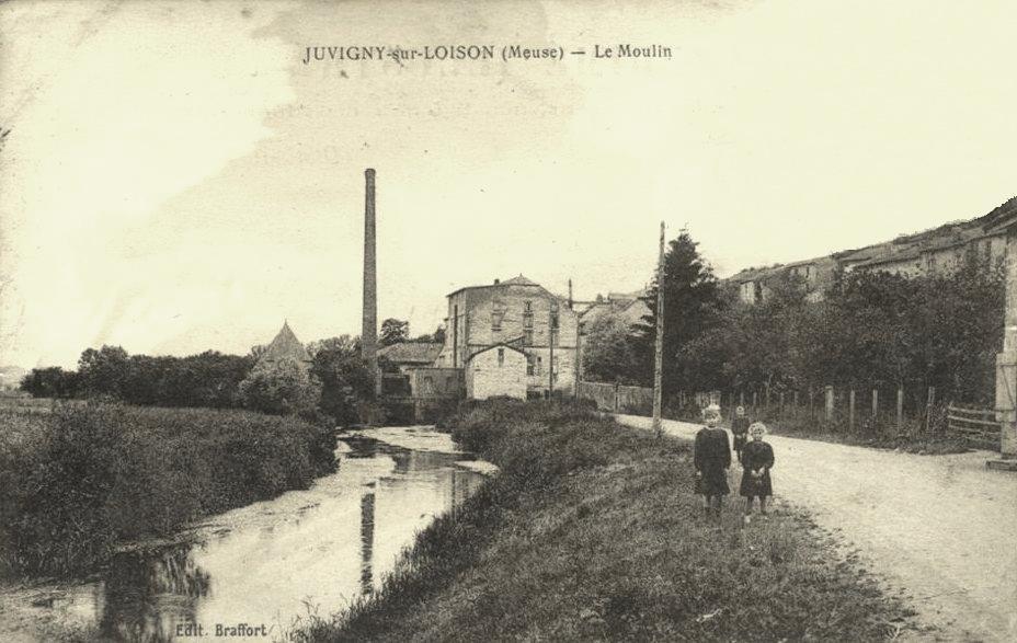 Juvigny-sur-Loison (Meuse) Le moulin CPA