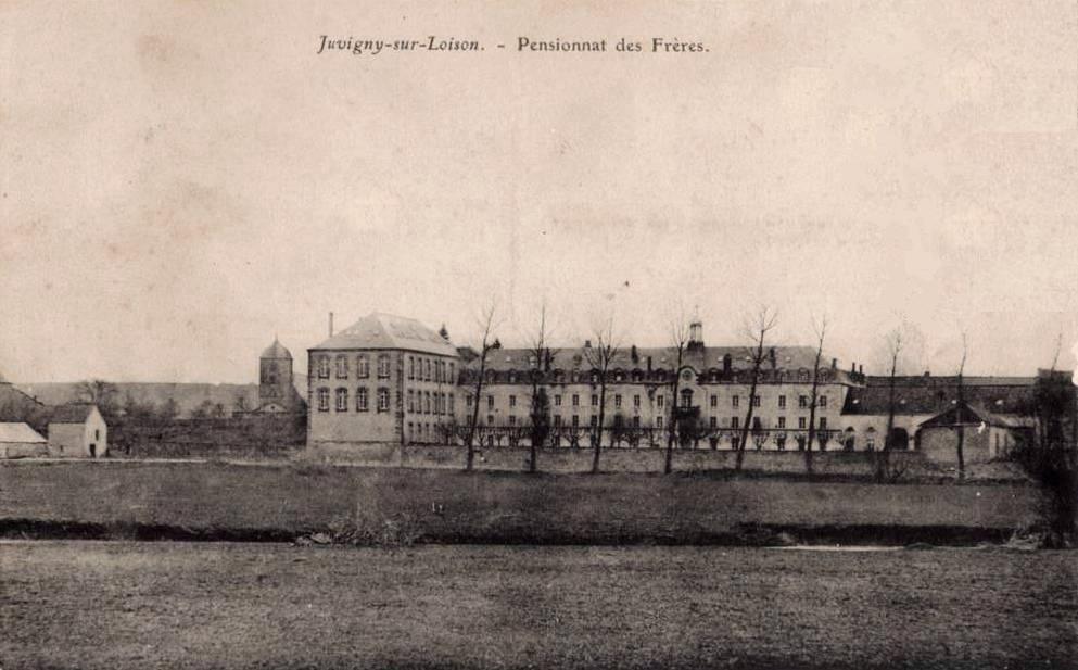 Juvigny-sur-Loison (Meuse) Le pensionnat CPA