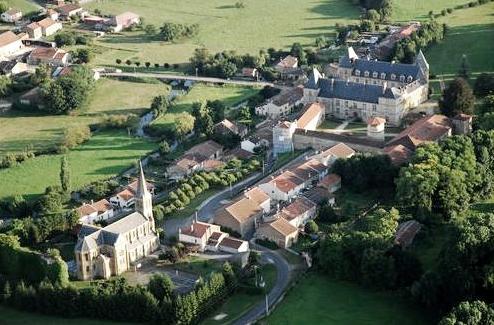 Juvigny-sur-Loison (Meuse) Vue aérienne