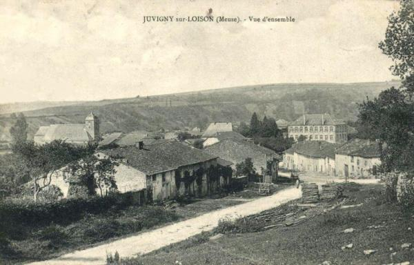Juvigny-sur-Loison (Meuse) Vue générale CPA