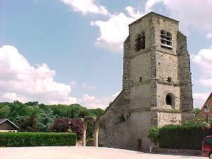 L'Epine-aux-Bois (Aisne) Eglise Saint-Cyr et Sainte-Juliette