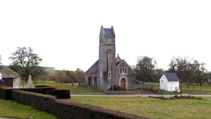 L'Epine-aux-Bois (Aisne) La Haute Epine Eglise