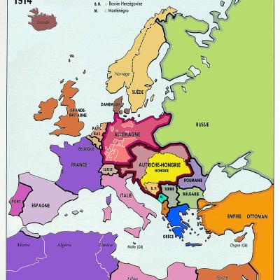L'Europe en cartes