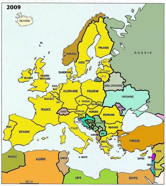 L'union européenne en 2016