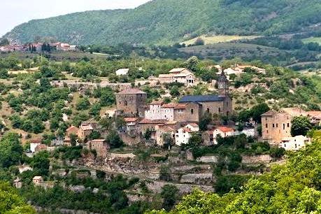 La Bastide-Pradines (Aveyron) Vue générale