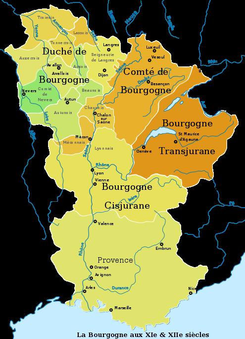 La Bourgogne (XIe et XIIe siècles)