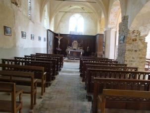 La Chapelle-sur-Chézy (Aisne) Eglise Saint-Barthélémy intérieur