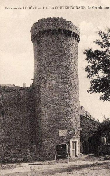 La Couvertoirade (Aveyron) CPA La grande tour