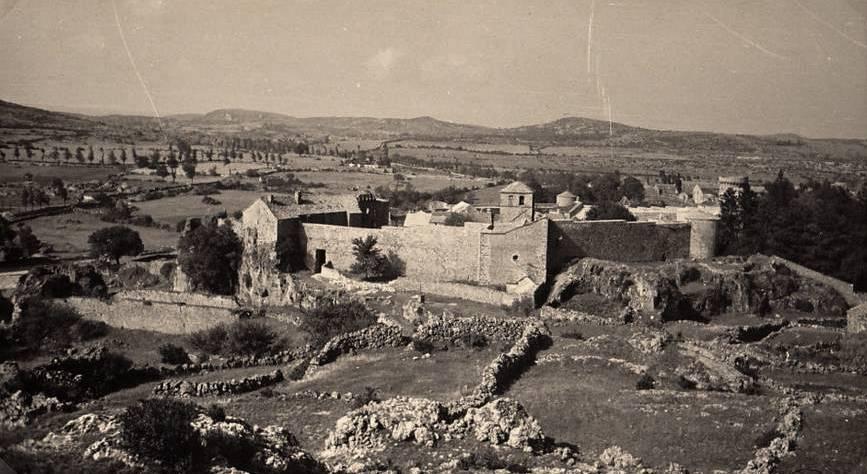 La Couvertoirade (Aveyron) CPA Vue générale en 1938