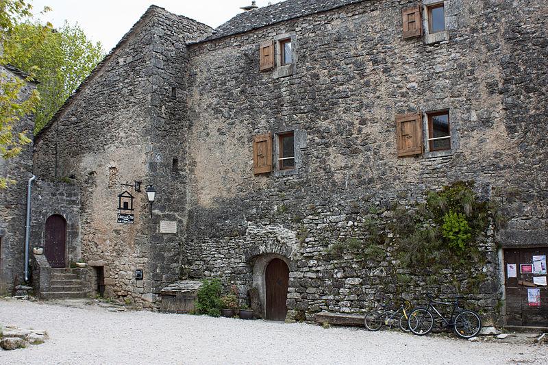 La Couvertoirade (Aveyron) L'ancien presbytère