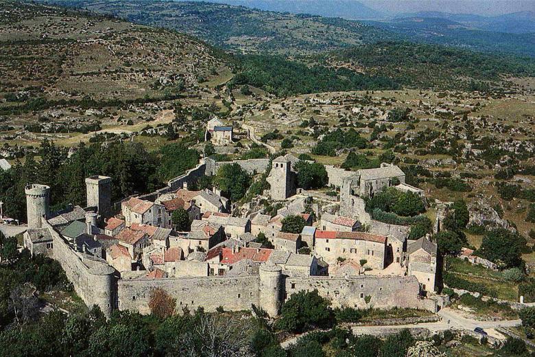 La Couvertoirade (Aveyron) Vue générale