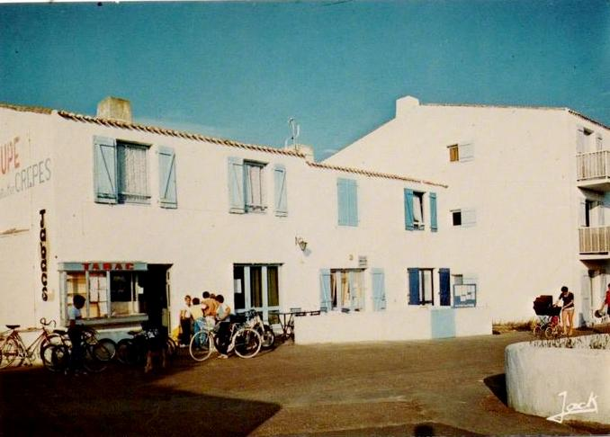 La Guérinière (Vendée) Bar-tabac La Chaloupe CPA