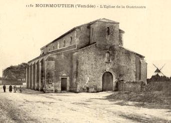 La Guérinière (Vendée) Eglise ND de Bon Secours CPA