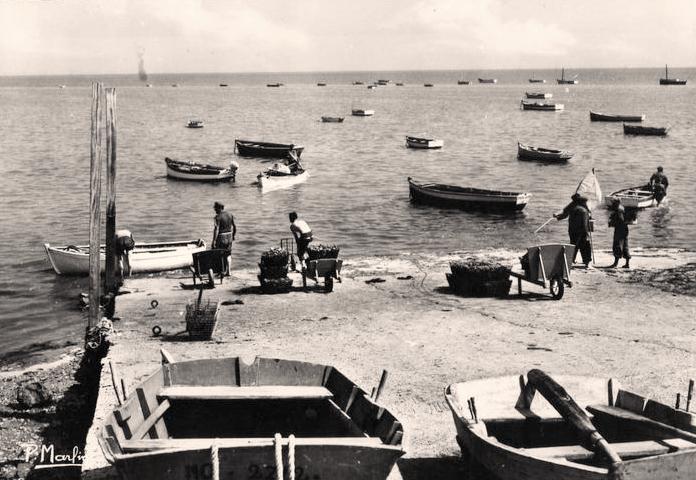 La Guérinière (Vendée) La pèche CPA