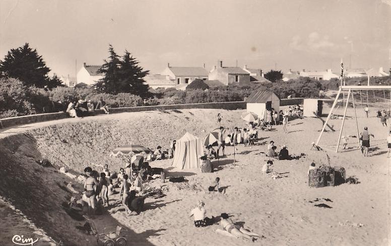 La Guérinière (Vendée) La plage CPA
