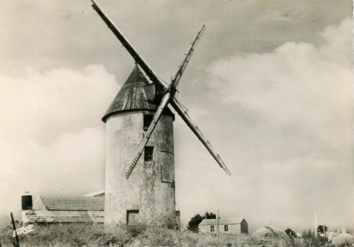 La Guérinière (Vendée) Moulin d'amour CPA
