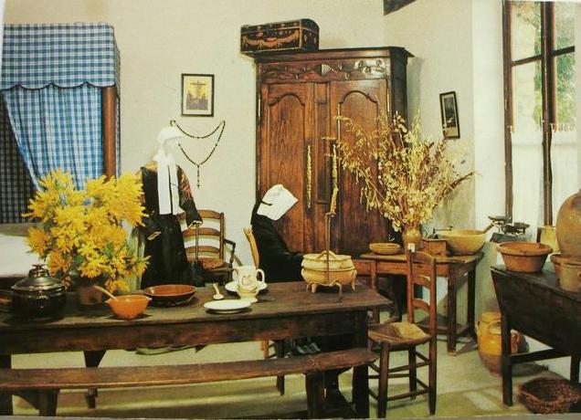 La Guérinière (Vendée) Musée des traditions de l'île, interieur noirmoutrin