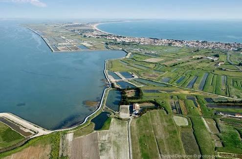 La Guérinière (Vendée) Vue aérienne