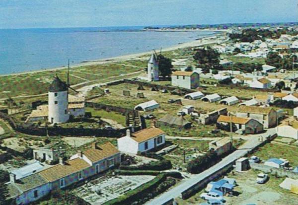 La Guérinière (Vendée) Vue générale CPA