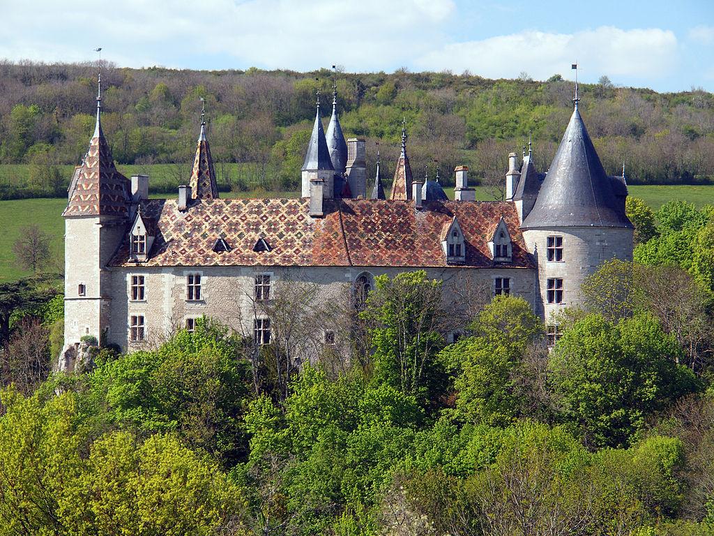 La Rochepot (Côte d'Or) Le château
