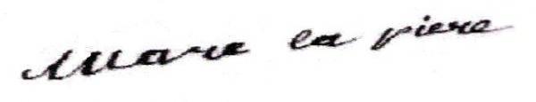 Marie Catherine Lapierre (1797/1885) épouse Jean Baptiste Duncourt