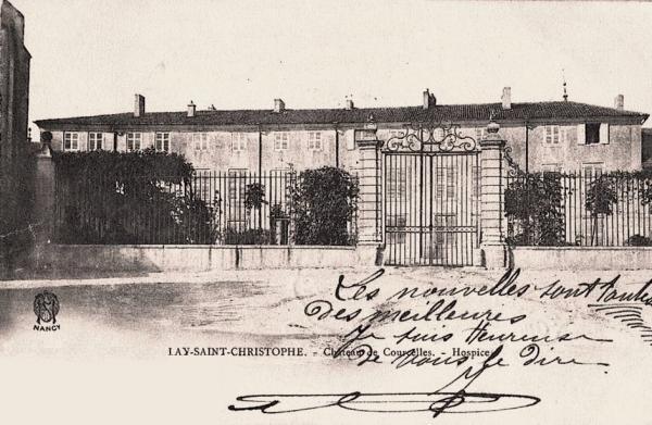 Lay-Saint-Christophe, l'ancien château où il serait né